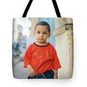 A Brahmin Boy Tote Bag