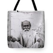 Hindu Holyman In Benares Tote Bag
