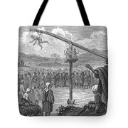 Hindu Public Penance Tote Bag by Photo Researchers