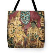 Hindu Wedding Ceremony Tote Bag
