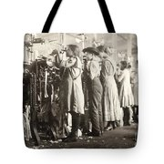 Hine: Child Labor, 1910 Tote Bag