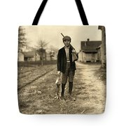 Hine: Hunter, 1908 Tote Bag