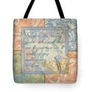 Hint Of Spring Butterfly 1 Tote Bag
