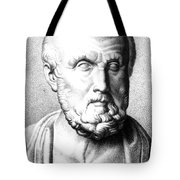 Hippocrates, Greek Physician, Father Tote Bag