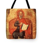 Hippocrates With Aphorisms Tote Bag