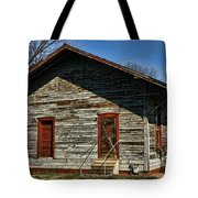 Historic Circa 1800s Railway Station Tote Bag