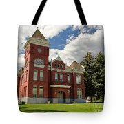 Historic Courthouse Marysvale Utah Tote Bag