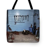 Historic Locomotive Carriage - Tools Tote Bag