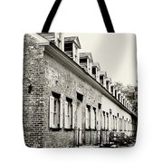 Historic Row Homes Allaire Village Tote Bag
