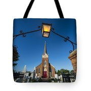 Historic St Peter's Episcopal Church Tote Bag