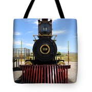 Historic Steam Locomotive Tote Bag