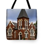 Historical 1901 Uab Spencer Honors House - Birmingham Alabama Tote Bag