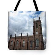 Historical 1st Presbyterian Church - Gates Avenue Se Huntsville Alabama Usa - Circa 1818 Tote Bag