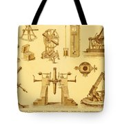 Historical Astronomy Instruments Tote Bag