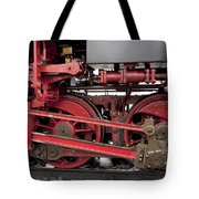 Historical Steam Train Tote Bag
