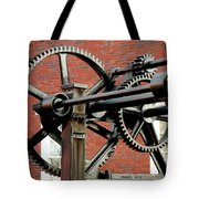 History Standing Still Tote Bag