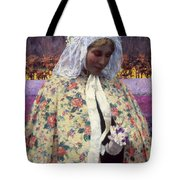 Hitchcock: The Bride, 1900 Tote Bag