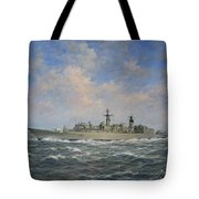 H.m.s. Chatham Type 22 - Batch 3 Tote Bag by Richard Willis