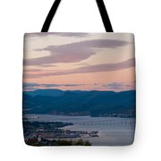 Hobart Harbour During Sunset Tote Bag