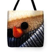Hobo Snowman Closeup IIi Tote Bag