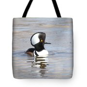 Hodded Merganser Tote Bag