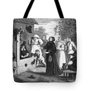Hogarth: Hudibras, 1726 Tote Bag by Granger