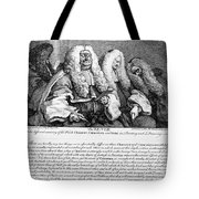 Hogarth: Judges, 1758 Tote Bag