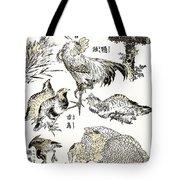 Hokusai: Birds Tote Bag