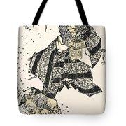 Hokusai: Setsubun, 1816 Tote Bag