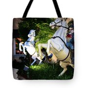 Hold On To The Reins Tote Bag