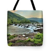 Hole In The New River Tote Bag