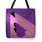 Hole In Wall Tote Bag