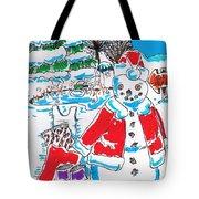 Holiday Dip Tote Bag