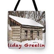 Holiday Greetings Tote Bag