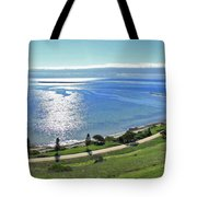 Holiday Horizon Tote Bag
