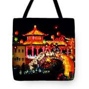 Holiday Lights 9 Tote Bag