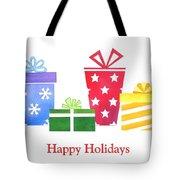 Holiday Presents Tote Bag