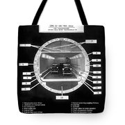 Holland Tunnel Section View Tote Bag
