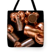 Hollow Point Bullets Tote Bag