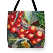 Holly Barries Tote Bag