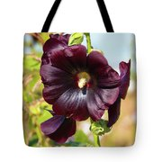 Hollyhock 7193 Tote Bag