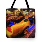 Hollywood Bumblebee Tote Bag