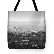 Hollywood From Above Tote Bag
