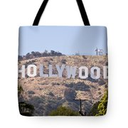 Hollywood Sign Photo Tote Bag