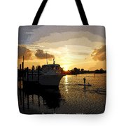 Home Before The Night  Tote Bag