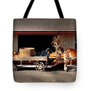 Home Delivery Family Market Tote Bag