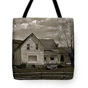 Home For The Cowboy Tote Bag