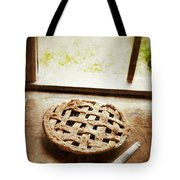 Home Made Pie Cooling By Open Window Tote Bag