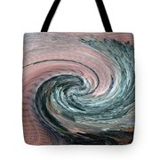 Home Planet - Northern Vortex Tote Bag