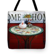 Home Sweet Home Tote Bag by Jeff Lowe